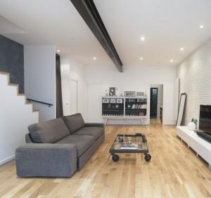 souplex excavation maison agrandissement extension plancher de verre maisons laffitte architecte olivier olindo