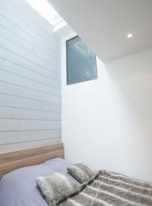 souplex excavation maison agrandissement extension plancher de verre maisons laffitte architecte olivier olindo chambre