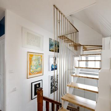 Olivier Olindo Architecte - Appartement D - Lumière toujours présente