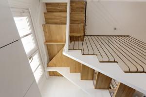 Olivier Olindo Architecte - Appartement D - Vue du dessous et garde corps