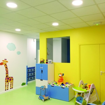 micro creche amenagement cration construction renovation paris chelles olivier olindo architecte enfant bebe mille et une bulle